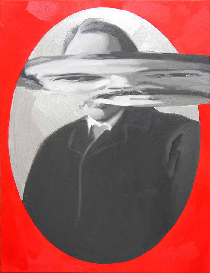 Stevenson Doppelgänger. Óleo sobre lienzo. 65 x 50 cm.