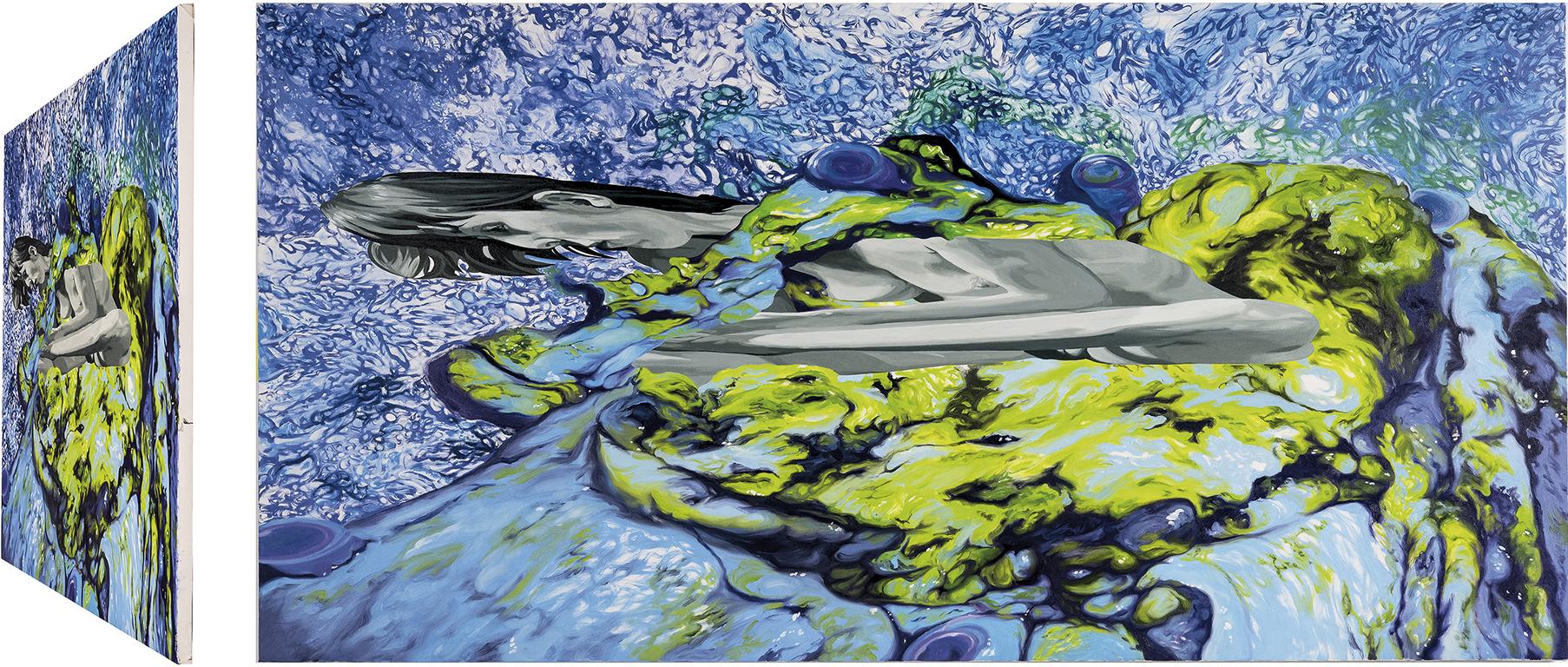 Espinario. Óleo sobre lienzo. 73 x 146 cm.