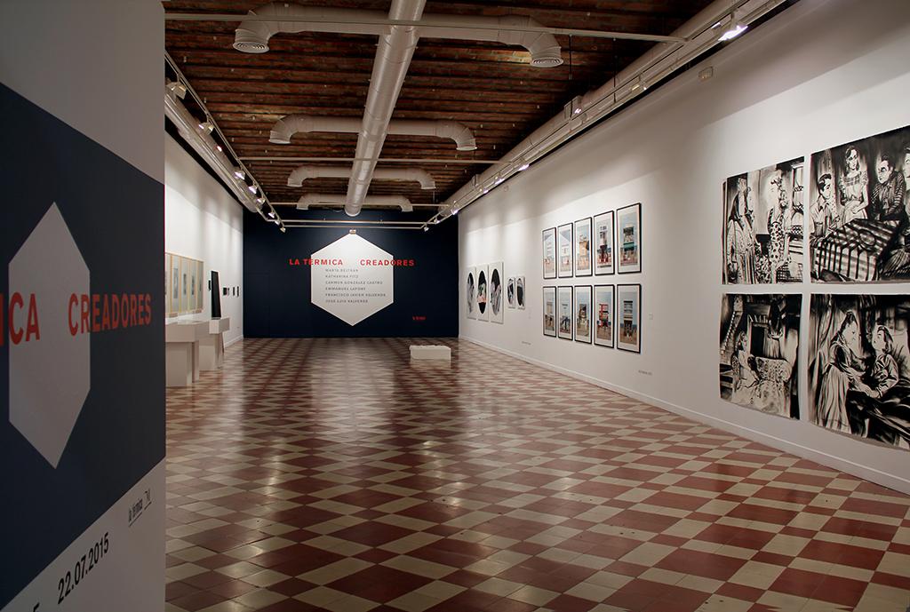Jornadas de creación, 2015. La Térmica, Málaga.